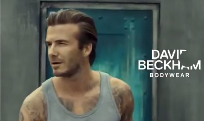 Watch David Beckham perform Parkour in his boxers for H&M Super Bowl Commercial 2014!