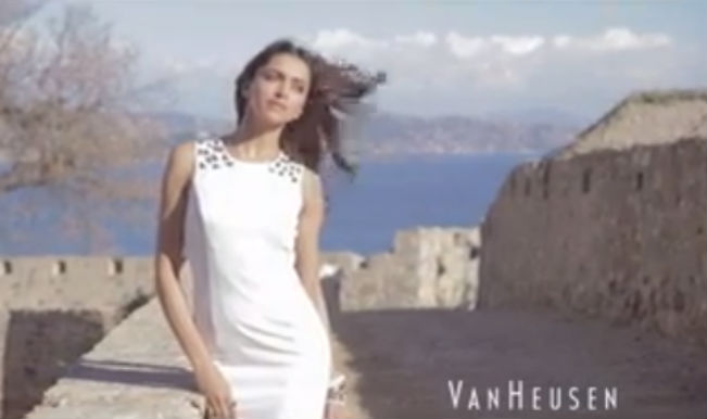 Deepika Padukone for Van Heusen SS 2014