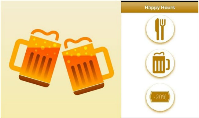 This new app will guide you to the nearest Happy Hours deals all over India!