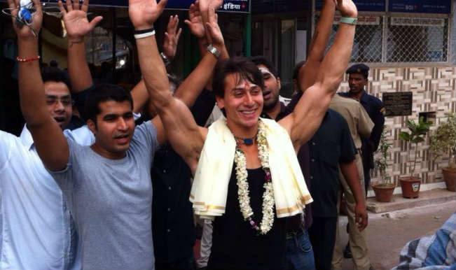 It will be father-son competition on May 23: Tiger Shroff