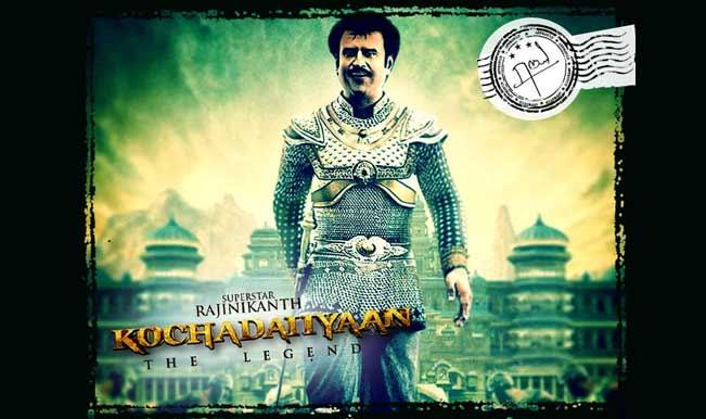 Rajinikanth tweets Kochadaiiyaan new official poster