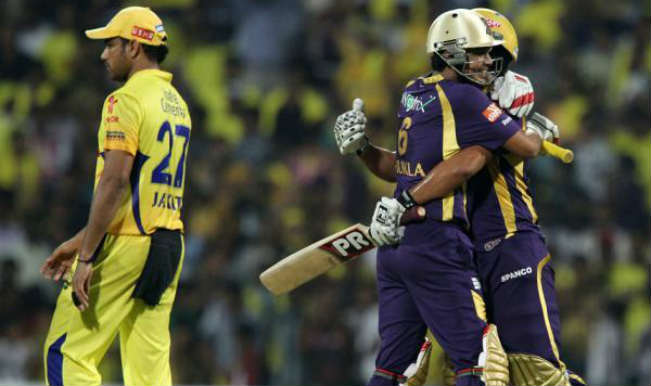 Live Cricket Score, KKR vs CSK