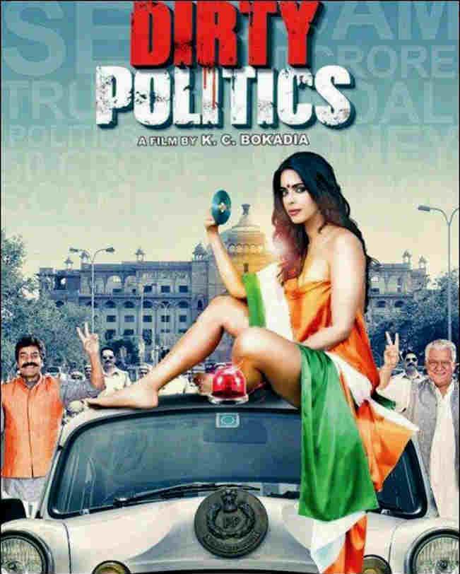 Mallika Sherawat in Dirty Politics Movie Poster
