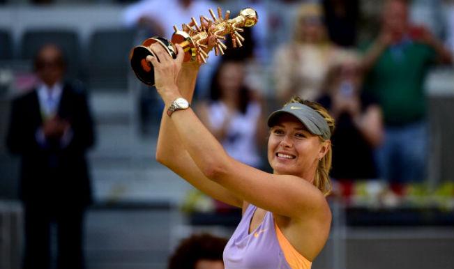 Maria Sharapova Madrid Open 2014