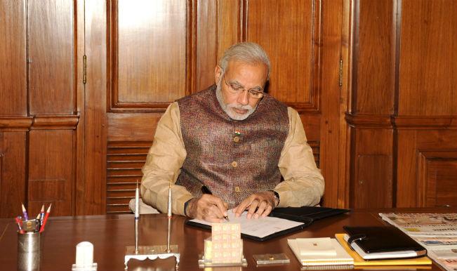Narendra Modi takes charge as Prime Minister