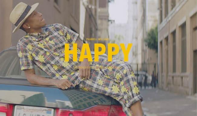 Pharrell Williams – Happy (2013, Yellow, Vinyl) - Discogs   386x651