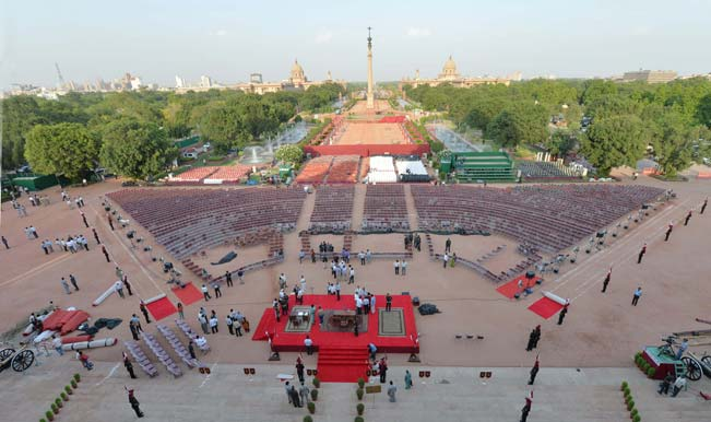 Preparations-for-swearing-in-ceremony-of-BJP-parliamentary-party-leader-Narendra-Modi