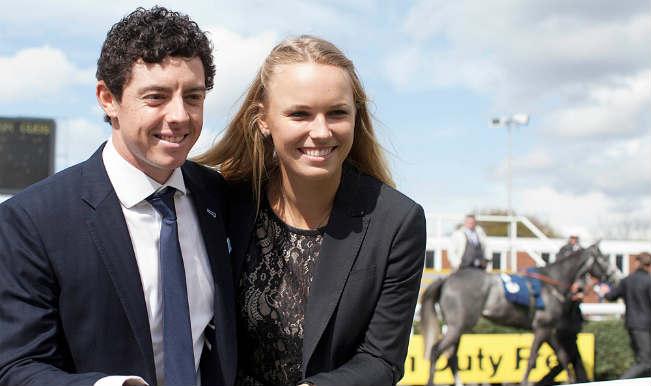 Rory Mcllory and Caroline Wozniacki