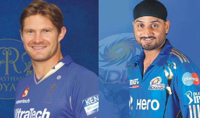 Shane-Watson-vs--Harbhajan-Singh