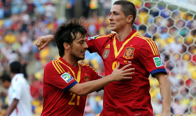 061bbad23a2 Spain World Cup Squad 2014: FIFA World Cup 2014 Football Team & Player List