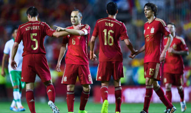 1b8ee0f9001 Spain defeats Bolivia in FIFA World Cup 2014 warmup game | Sports ...