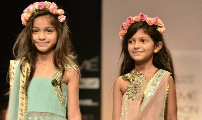 Children''s fashion show at Lakme Fashion Week