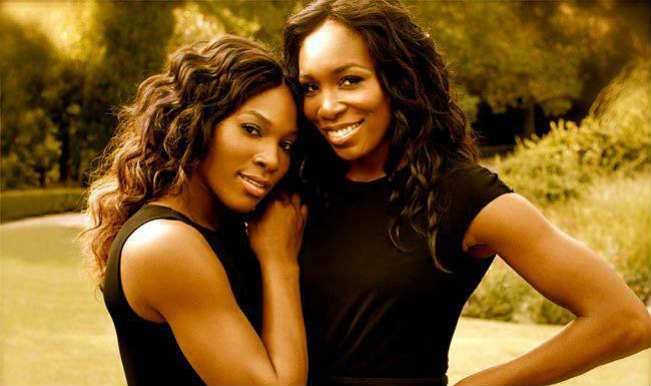 Serena Williams with Venus Williams