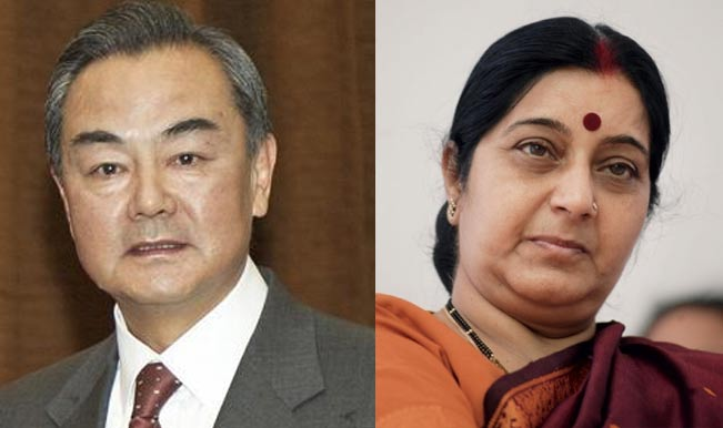 Chinese FM holds talks with Sushma Swaraj