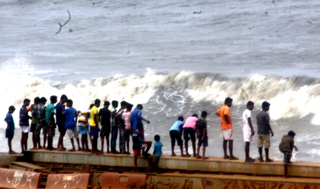 Cyclonic-storm-lashes-Mumbai-coast-in-Mumbai-on-June-11