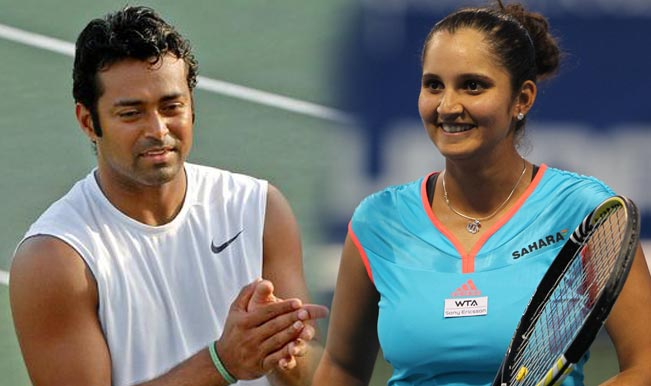 Leander Paes wins, Sania Mirza loses at Wimbledon