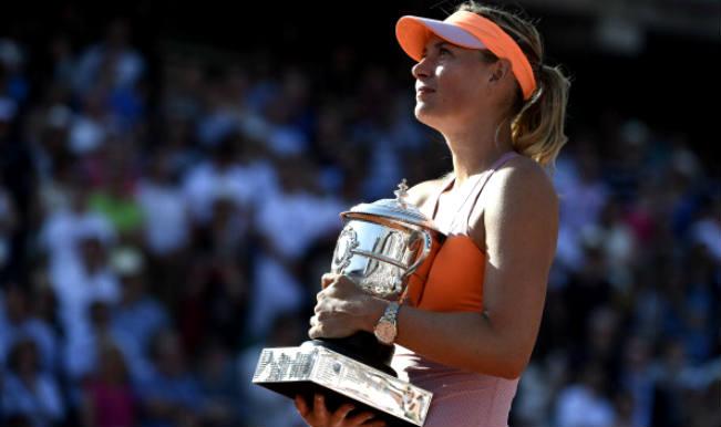 Maria Sharapova Beats Simona Halep to Win French Open 2014 title3