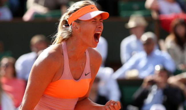 Maria Sharapova_Semifinal_French Open 2014
