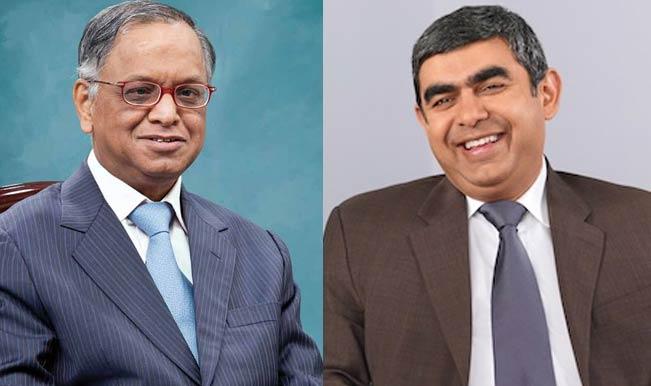 Narayan-Murthy-and-Vishal-Sikka