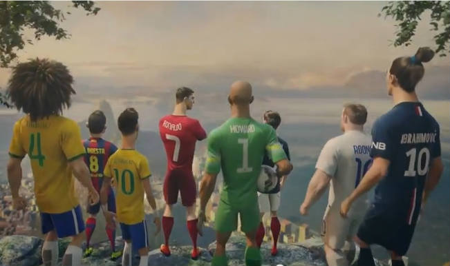Nike Football: The Last Game, Watch the star players 'Risk Everything'