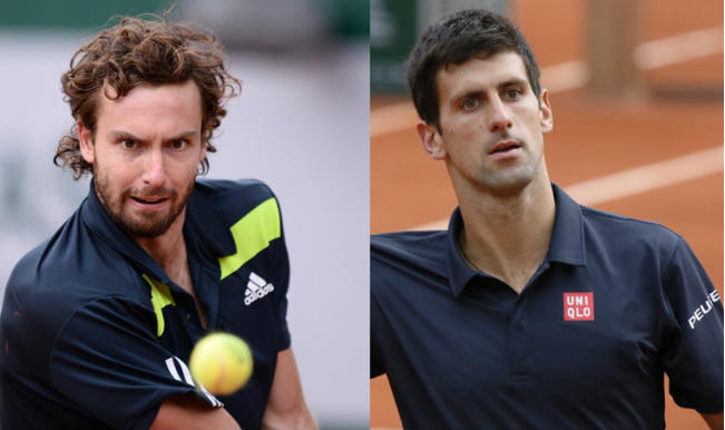 Novak Djokovic vs Ernests Gulbis