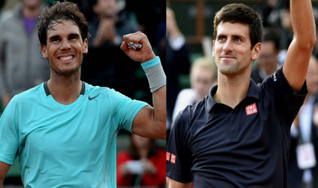 Rafael Nadal vs Novak Djokovic_French Open 2014