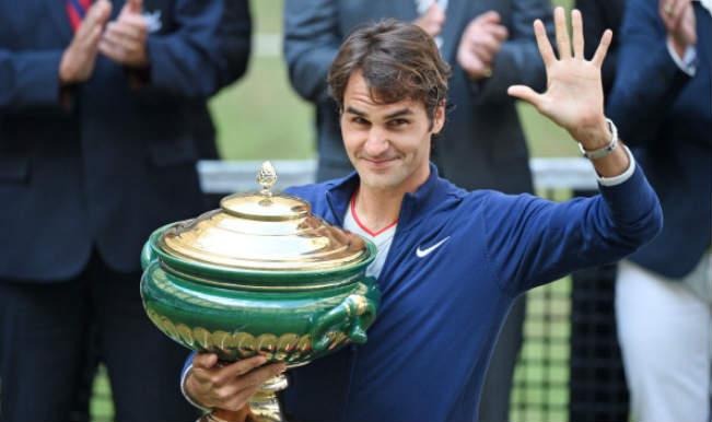 Roger Federer wins ATP Halle Open
