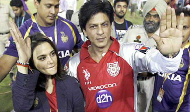 Shahrukh Khan and Preity Zinta