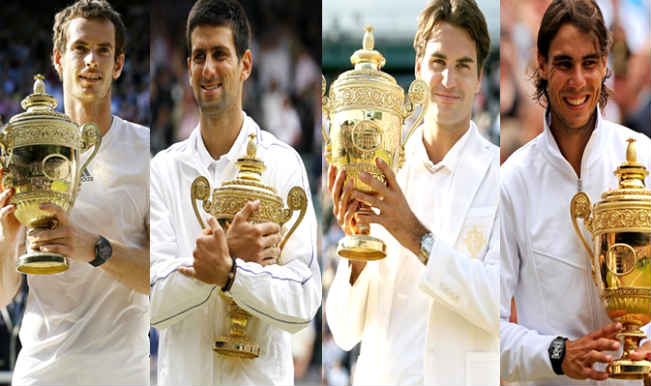The Big Four_Wimbledon 2014