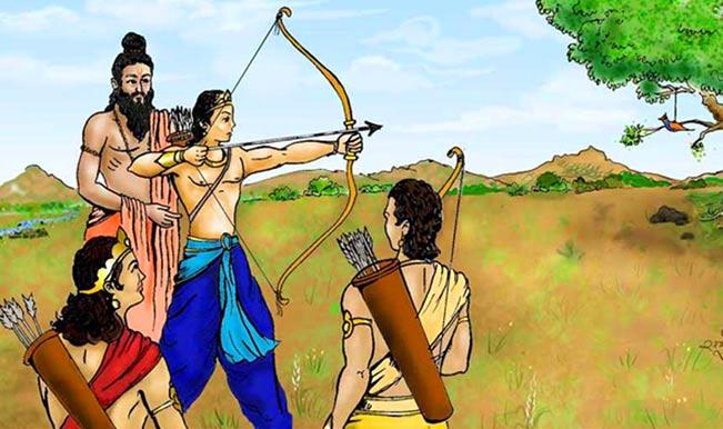 dronacharya and arjuna relationship