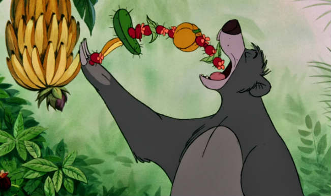 Bear Necessities- The Jungle Book