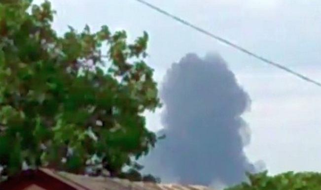 Flight MH17 crash footage
