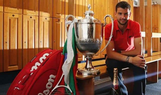 Grigor Dimitrov_Wimbledon Championships_2014