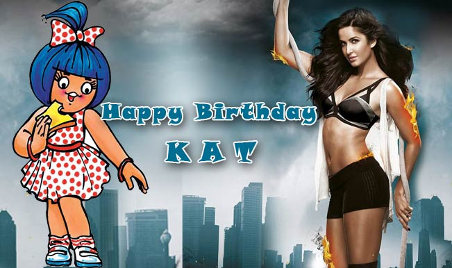 Boom to Dhoom 3: Amul depicts Katrina Kaif's life in Bollywood on her birthday!