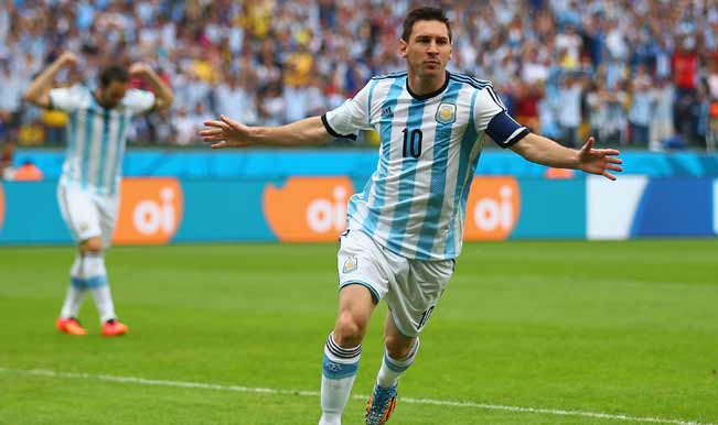 e7f3401a929 FIFA World Cup 2014 Live Updates, Netherlands vs Argentina: Lionel Messi's  Argentina are through to the final