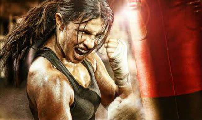 First Look: Priyanka Chopra as Mary Kom rocks the aggressive boxer look!