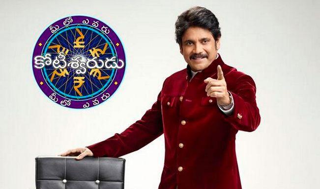 Nagarjuna enjoys hosting Telugu KBC Meelo Evaru Koteeswarudu