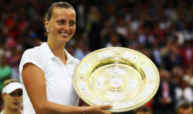 Petra Kvitova_Wimbledon Championships Winner 2014