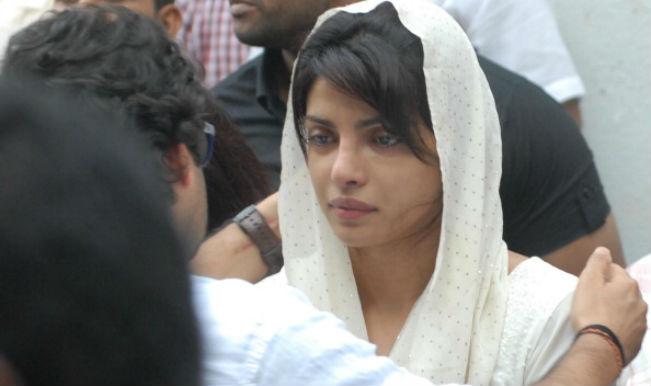 Priyanka Chopra sad