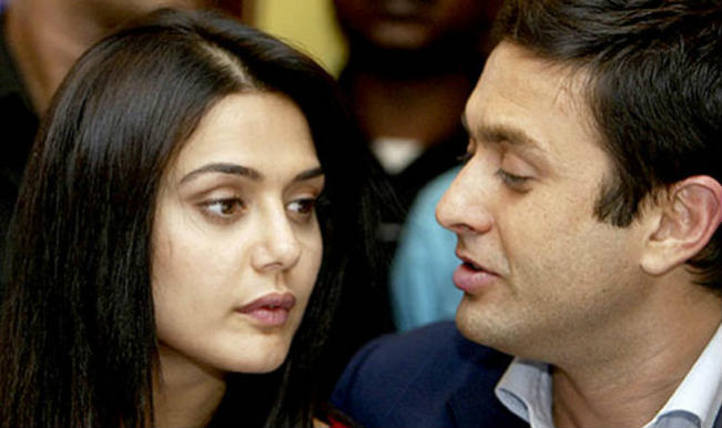 Were Preity Zinta and Ness Wadia having a good time the day before their fight?
