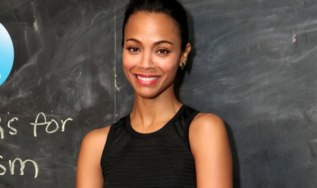 Avatar girl Zoe Saldana pregnant with twins!