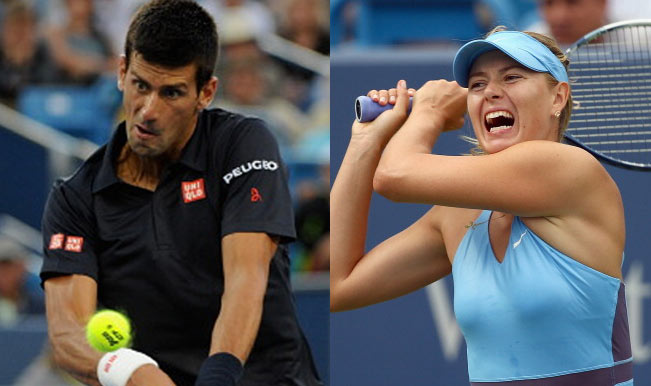 Novak Djokovic, Maria Sharapova