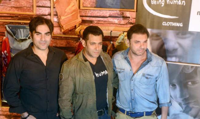 Salman Khan, Arbaaz Khan and Sohail Khan