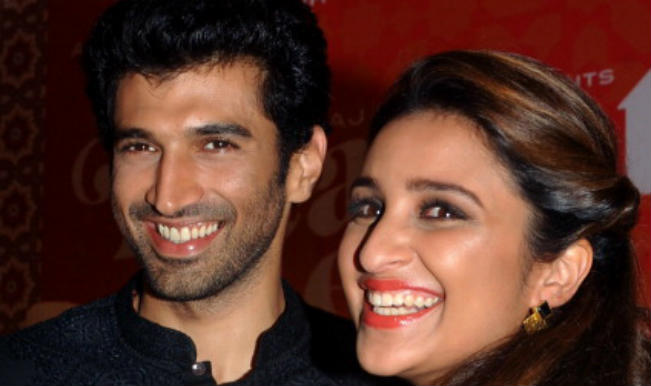Parineeti Chopra, Aditya Roy Kapur shoot Kaun Banega Crorepati with Amitabh Bachchan