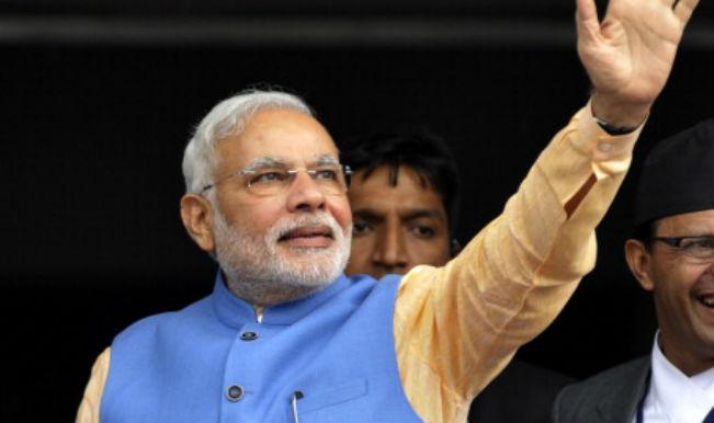 Narendra Modi discusses bilateral ties with Nepal president Ram Baran Yadav