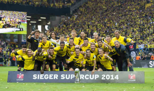 Borussia Dortmund 201415 Home Kit  The Kitman
