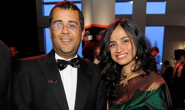 Chetan-Bhagat-(L)-attends-Time's-100-most-influential-people-in-the-world-gala