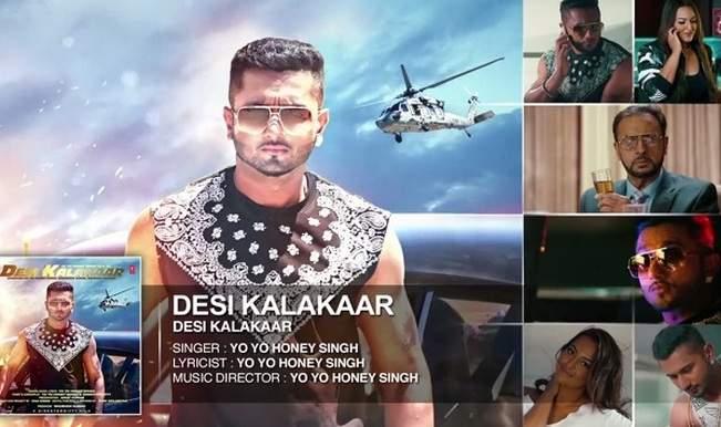 Yo Yo Honey Singh song Desi Kalakaar full audio out: Yet
