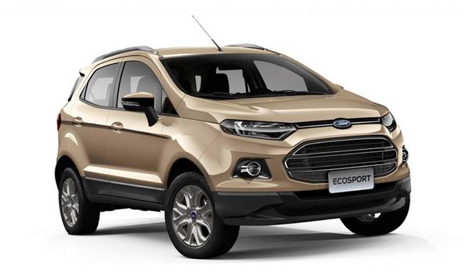 ford ecosport 100 000 units of popular suv sold in india and exported. Black Bedroom Furniture Sets. Home Design Ideas