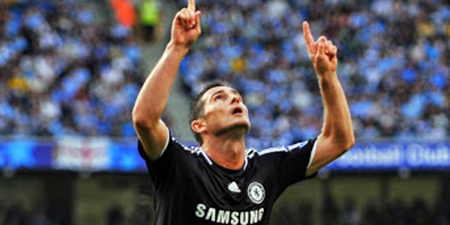 The 6 goals Frank Lampard as a Chelsea player scored against Manchester City